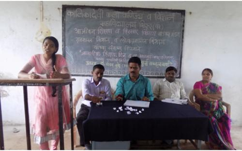 Student participation on the occasion of World Teacher Day